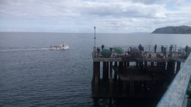 llandudno Pier, well