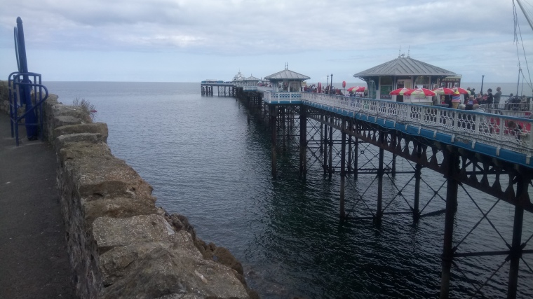 cake, a cut above Colwyn Bay Pier