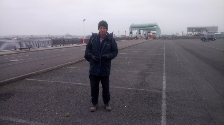 on Cardiff Bay Barrage