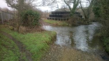 Llanmihangel Ford over the Afon Cynffig