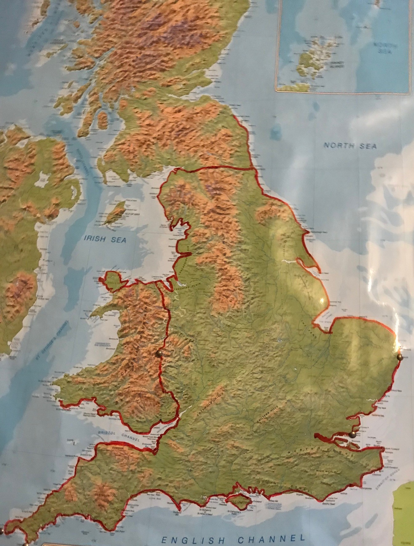 progress map