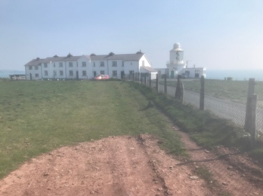 Holiday let's and lighthouse at St Ann's Head